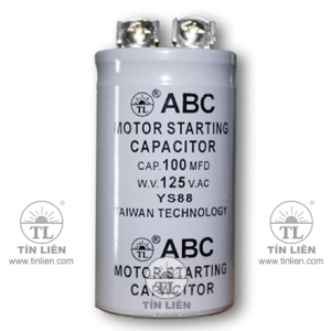 Motor starting Capacitor 125V 100mf(uf)