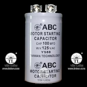 Motor starting Capacitor 125V 100mf(uf)