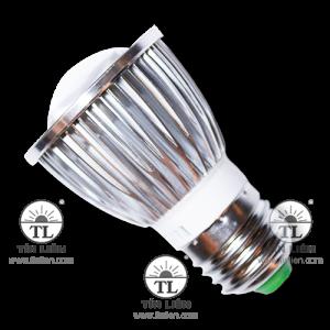 Đèn LED Chiếu Điểm Nhôm Có Vân Đèn