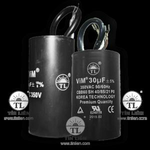 Tụ Vim đen 350V 16mf(uf)