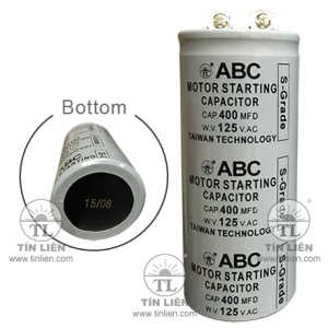 Tụ Đề ABC S-GRADE 125V - 600MF(UF)