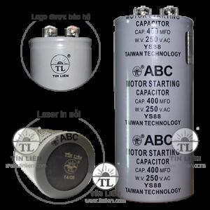 Tụ Đề TL ABC 250V 600mf(uf)