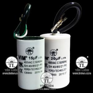 Tụ Vim trắng 400V-450V 15mf(uf)